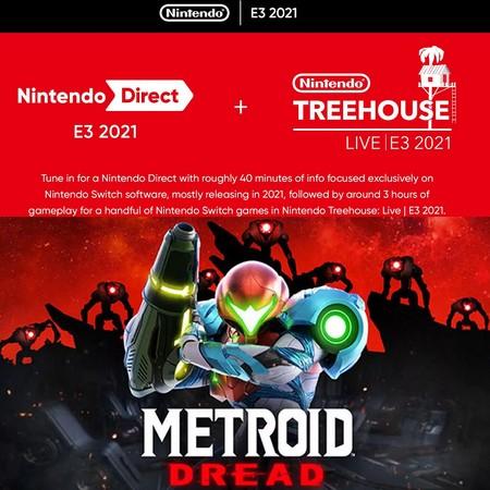 Metroid Dread - Trailer de E3 2021