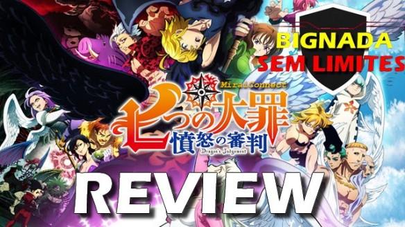 Nanatsu no Taizai - O Julgamento do Dragão (2021) - Bignada Review