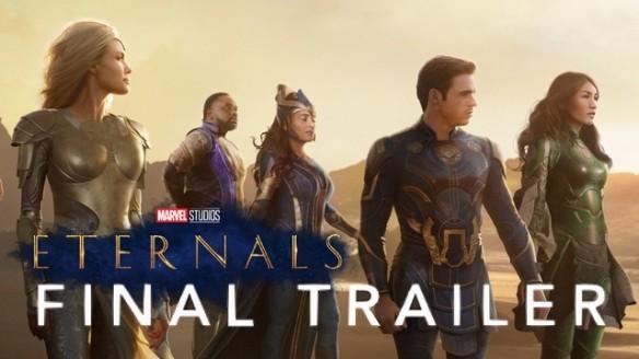 Eternos - Trailer Final do Filme