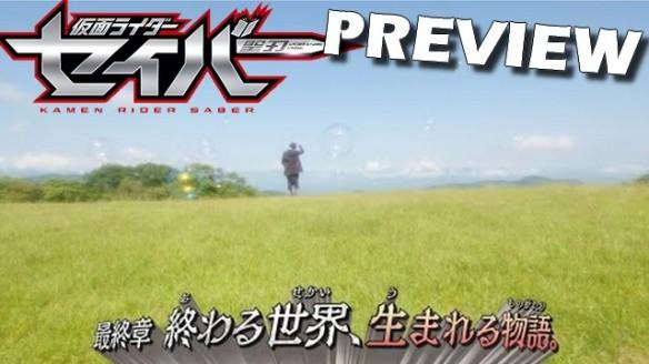 Kamen Rider Saber - Preview do Episódio 47 (Final)