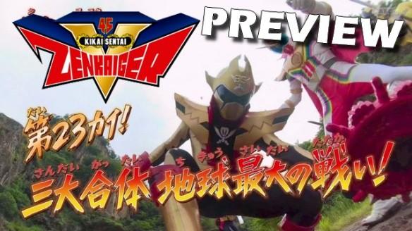 Kikai Sentai Zenkaiger - Preview do Episódio 23