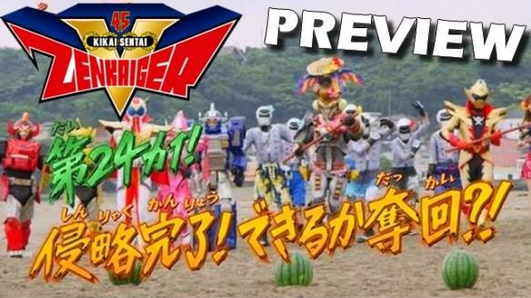 Kikai Sentai Zenkaiger - Preview do Episódio 24