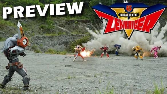 Kikai Sentai Zenkaiger - Preview do Episódio 25