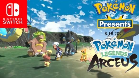 Pokemon Legends Arceus - Discover the Hisui region - Novo Trailer do Game