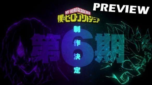My Hero Academia - Preview da Season 6 do Anime