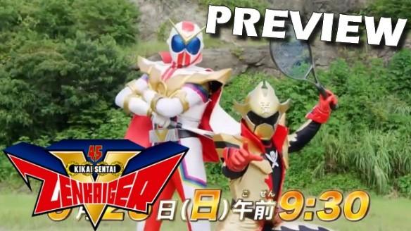 Kikai Sentai Zenkaiger - Preview do Episódio 29