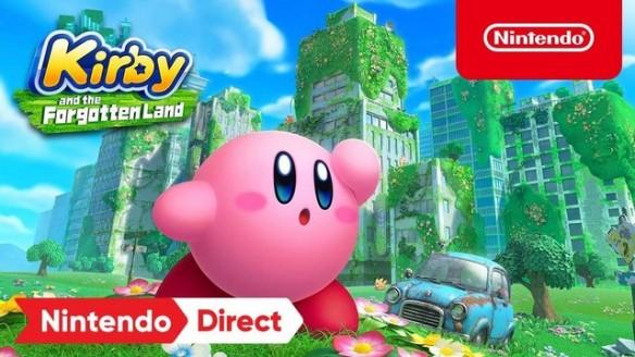 Kirby and the Forgotten Land - Trailer de Anúncio do Game na Nintendo Direct