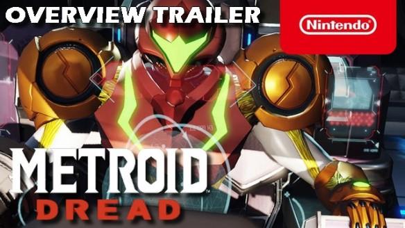 Metroid Dread - Trailer de Overview do Game