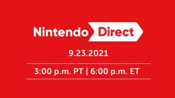 Nintendo Direct 23 09 2021 - Assista o Evento Digital Completo