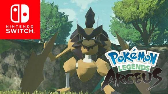 Pokemon Legends Arceus - Trailer do Kleavor