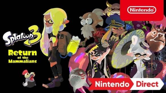 Splatoon 3 - Return of Mammalians - Trailer da Nintendo Direct