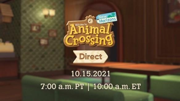 Animal Crossing Direct 15 10 2021