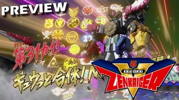 Kikai Sentai Zenkaiger - Preview do Episódio 31