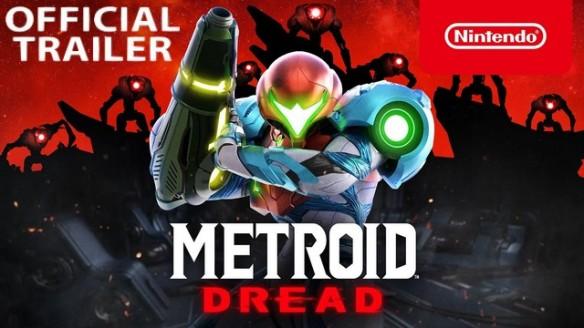 Metroid Dread - Sound of Dread - Trailer de Launch do Game